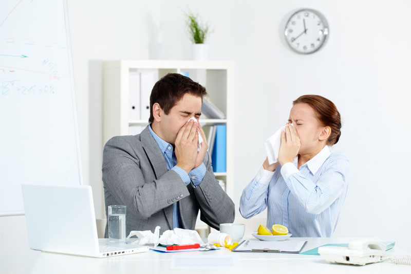 Office Cold Health