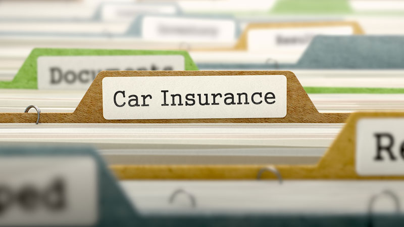 car insurance folder